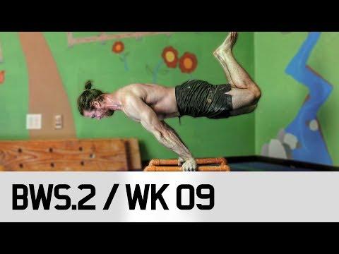 STRONGEST Planche 85kg Bodyweight / STRONGER! BWS.2 / Week 09