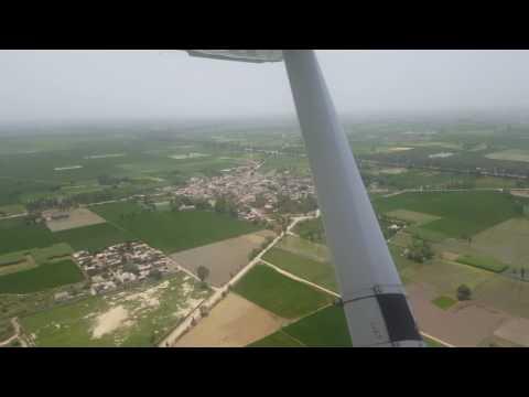 Descending to Karnal, Haryana