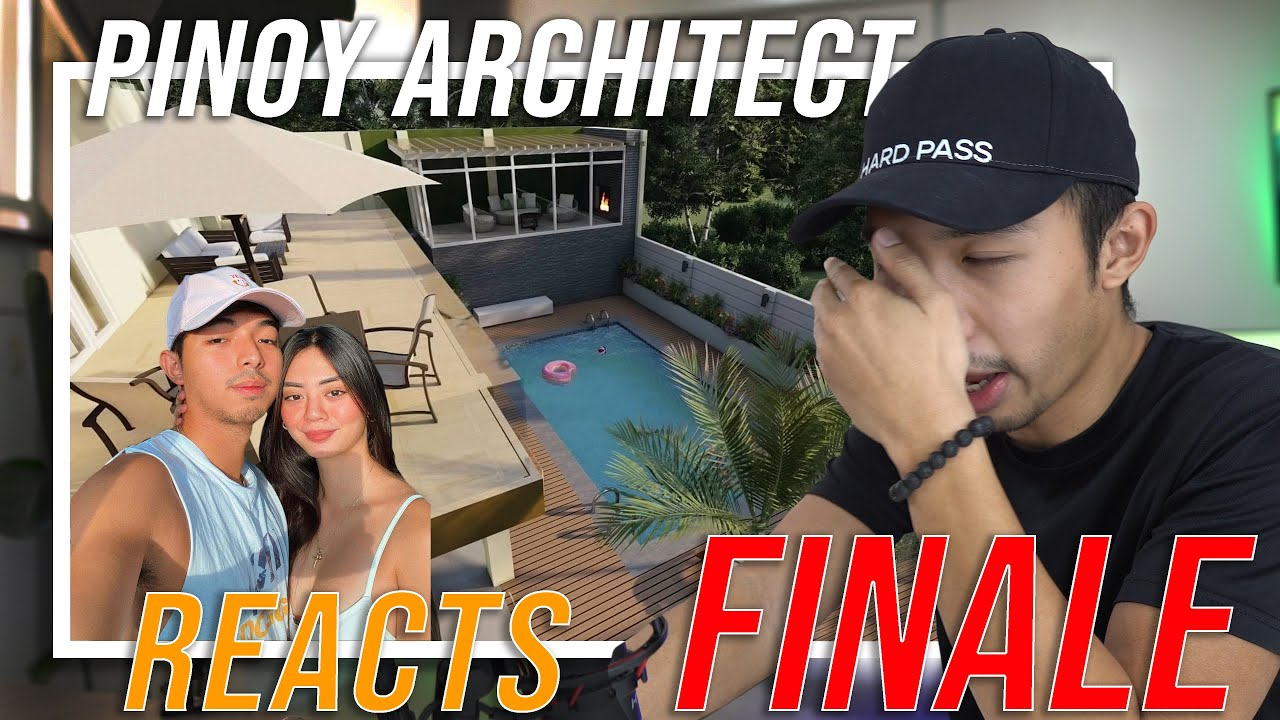 PINOY ARCHITECT REACTS TO THE FINISHED JAMILL HOUSE AND POOL