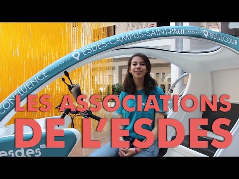 Les associations de l'ESDES - Team admissibles