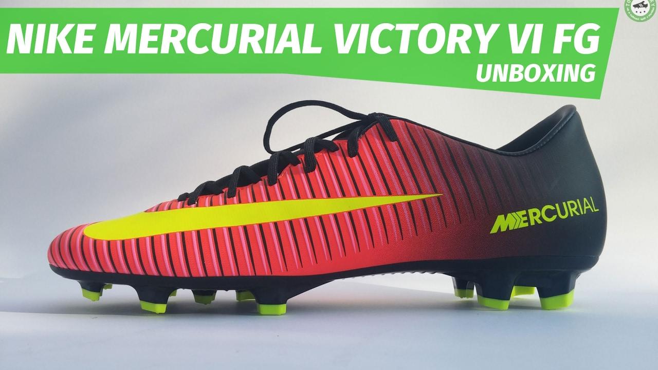 uk availability 745b9 80926 Nike Mercurial Victory VI FG unboxing