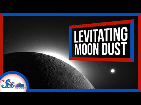 How Levitating Dust Shapes Airless Worlds