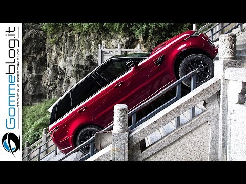 Range Rover Sport Hybrid PHEV - First SUV to Climb To Heaven's Gate China
