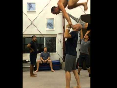 The Sports Acro Roll Up: Tari Mannello and Lorin Cha
