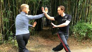 2 Bagua Masters FIGHT - Pa Kua COMBAT