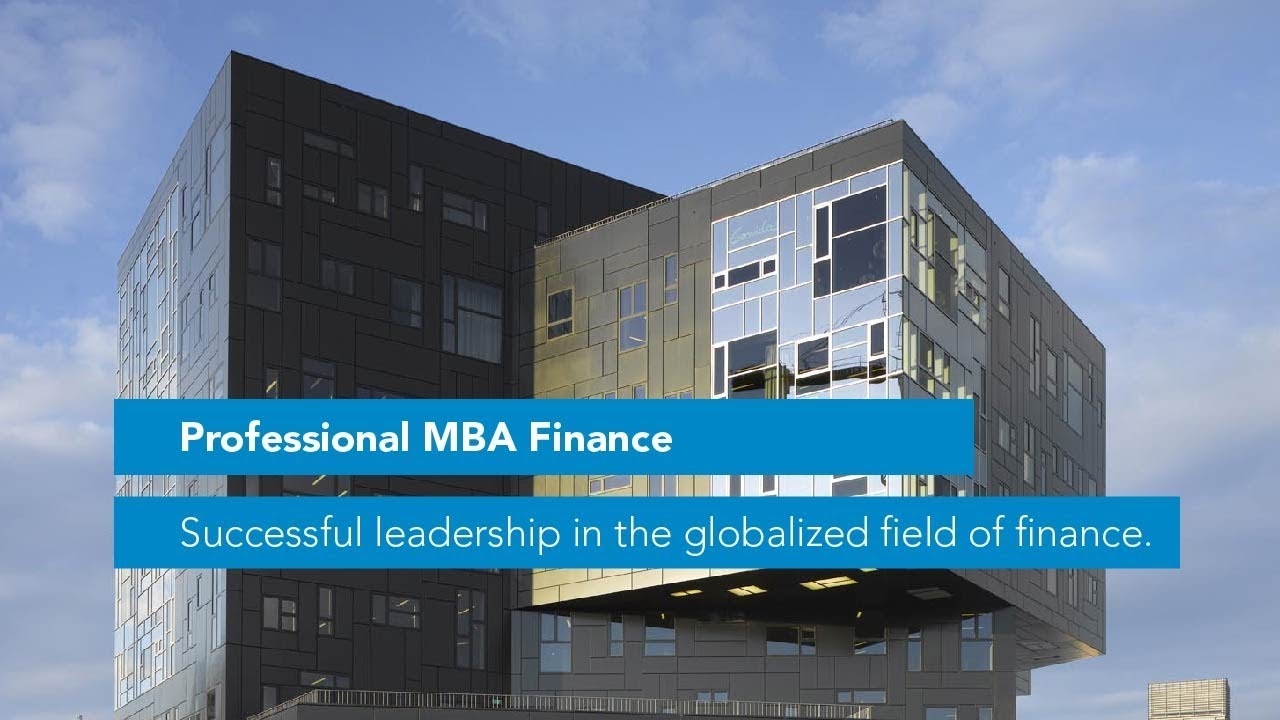 Professional MBA in Finance - WU Executive Academy Vienna