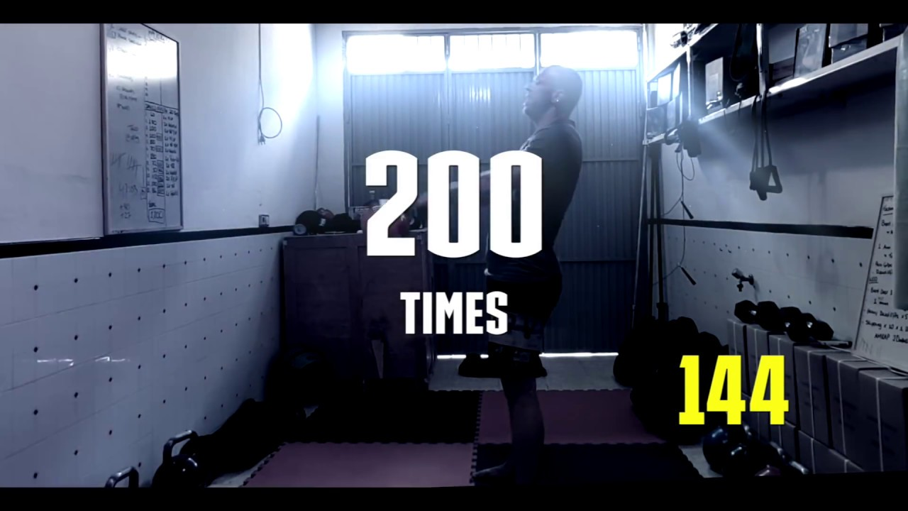 200 Unbroken Kettlebell Swing 28 Kilos Youtube