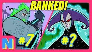 EVERY Danny Phantom Ghost RANKED!