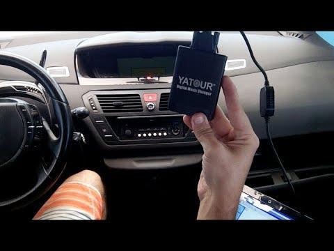 Instalação interface USB Yatour no rádio original RD4 Citroën/Peugeot - 1/3