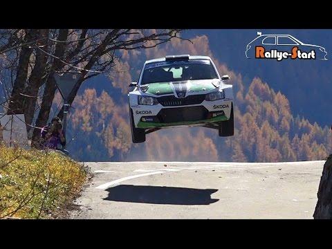 Rallye International du Valais ERC 2015 [HD] - Rallye-Start