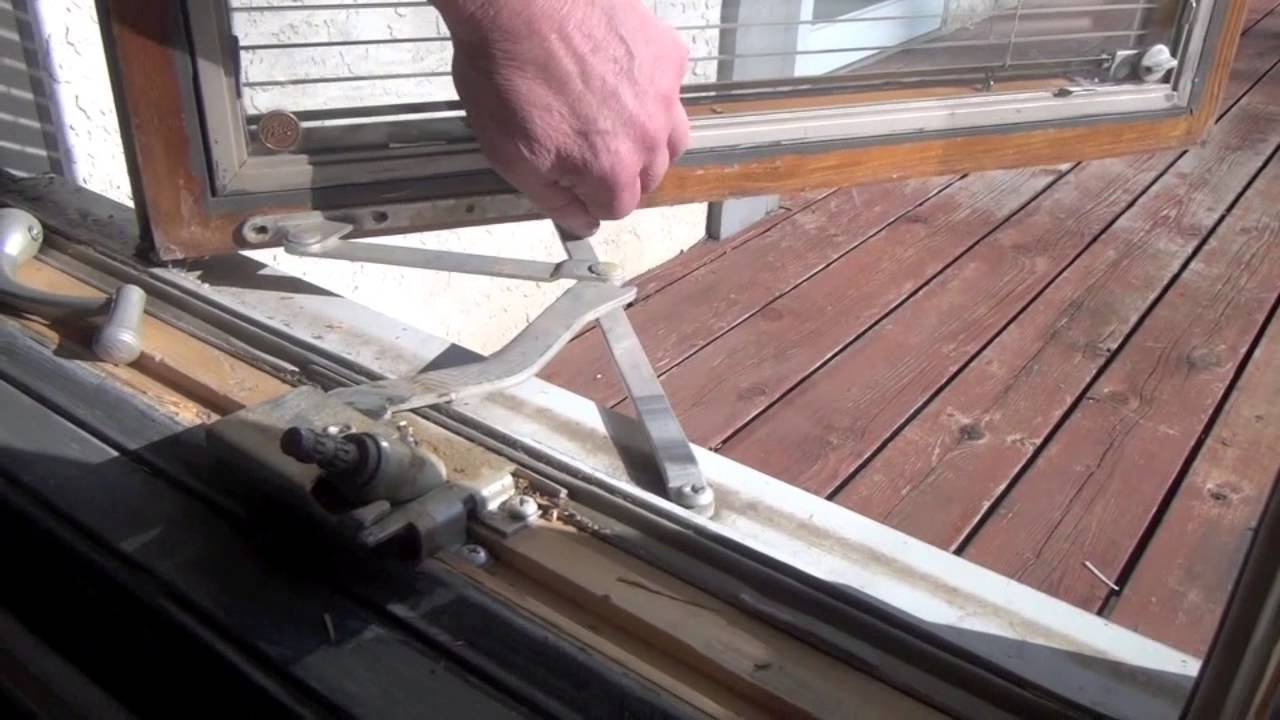 How To Replace The Operator In A Pella Casement Window