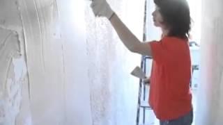 Как быстро и легко сделать красивые рельефные стены