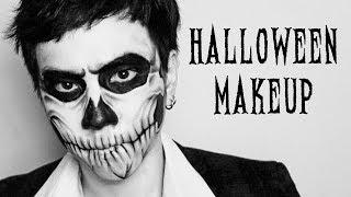Skull Halloween Makeup | By Soundtiss