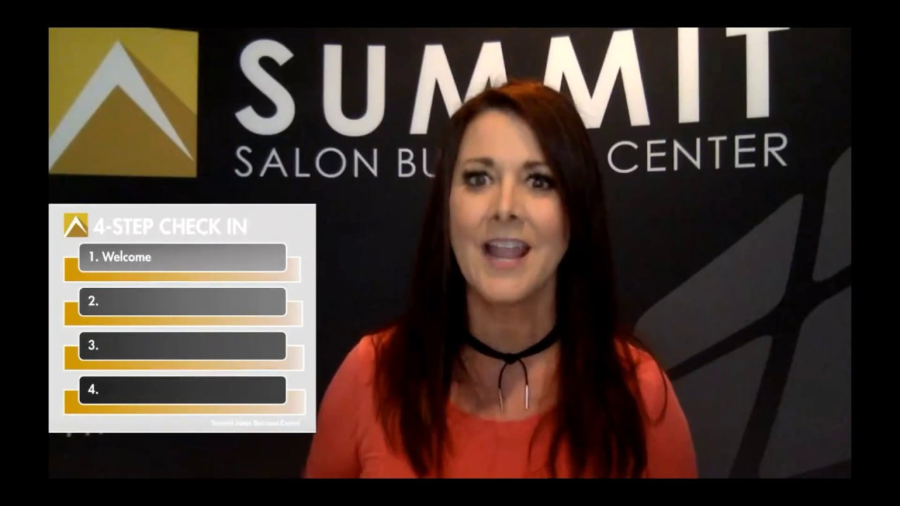 SALON FRONT DESK: Greet your Guests with Greatness