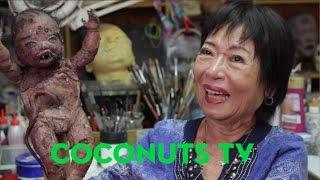 Art Coco: Prosthetic makeup artist Cecille Baun