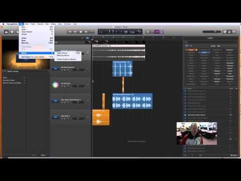 GarageBand - Export Movie From GarageBand