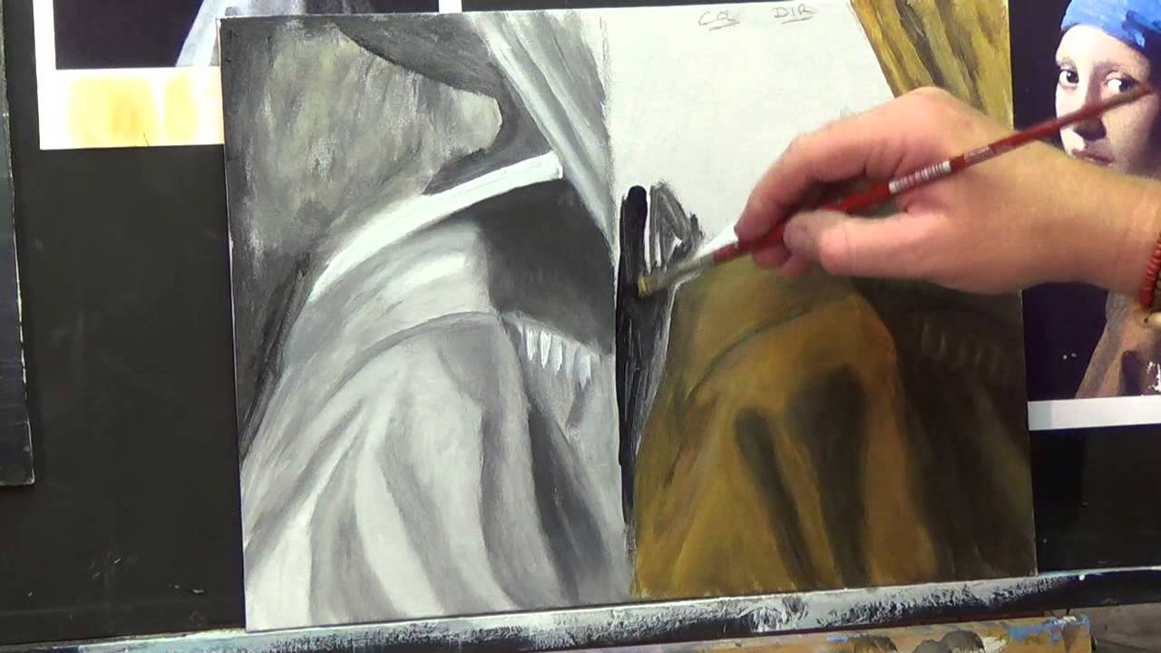 How to paint the fabric