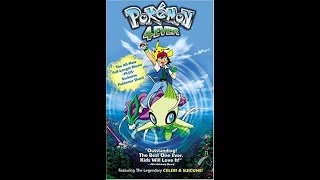Opening To Pokemon 4Ever 2003 VHS