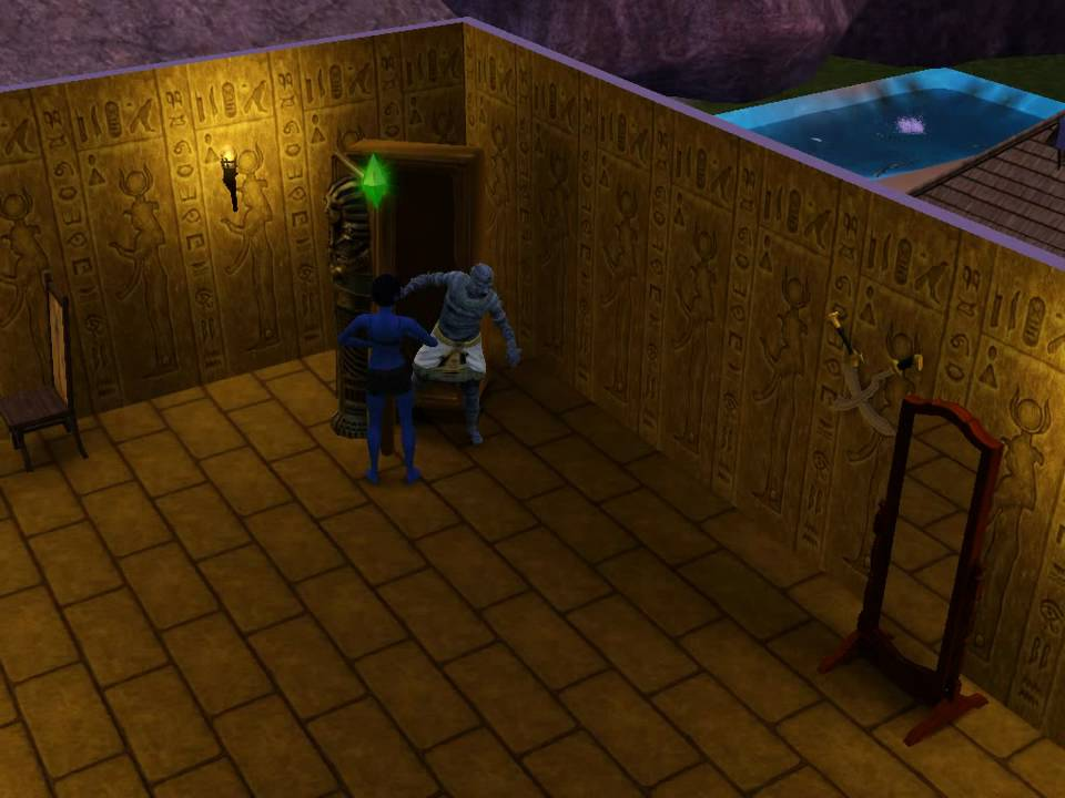 summoning the mummy the sims 3 world adventures youtube