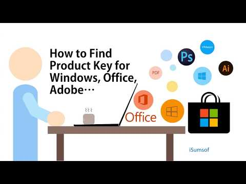How To Find Product Key For Windows/Office/Adobe..