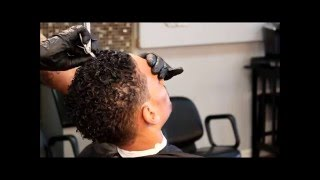 Haircut and Texturizer Demonstration
