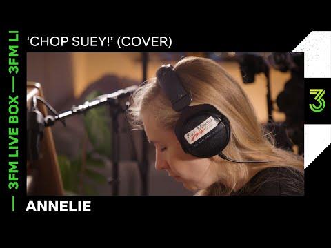 Annelie covert 'Chop Suey!' van System Of A Down | 3FM Live Box | NPO 3FM