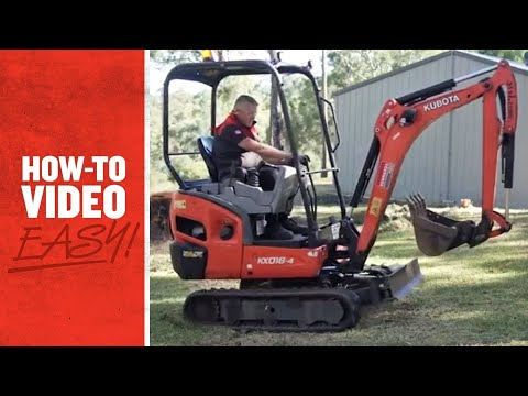 How To Use An Excavator - Kennards Hire