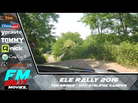 ELE rally 2016 | ONBOARD | Ten Brinke - KP11 Strijpse Kampen [HD]