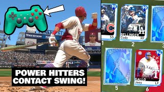 contact swinging with POWER HITTERS ONLY MLB THE SHOW 19 DIAMOND DYNASTY