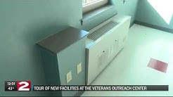 A look inside the new Veterans Outreach Center housing units