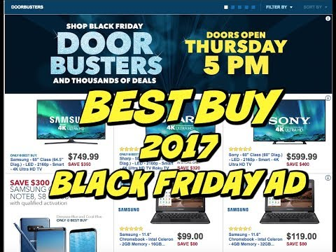 BEST BUY 2017 BLACK FRIDAY AD ~ DOORBUSTERS ~ HUGE SAVINGS 💰 💰