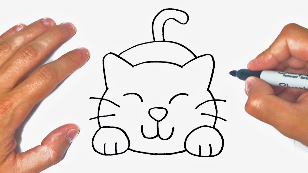 How to draw a Cat Step by Step | Cat Drawing Lesson