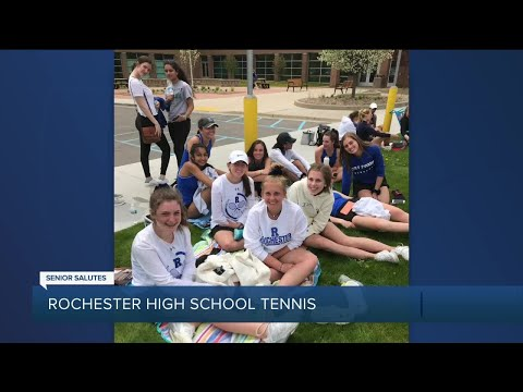 WXYZ Senior Salutes: Rochester High School girls tennis
