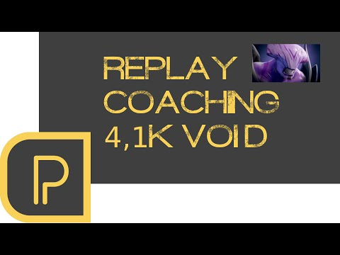 Replay Coaching: 4.1k Offlane Faceless Void