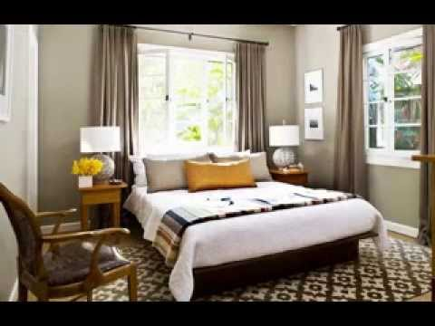 DIY bedroom window treatments design decorating ideas - YouTube