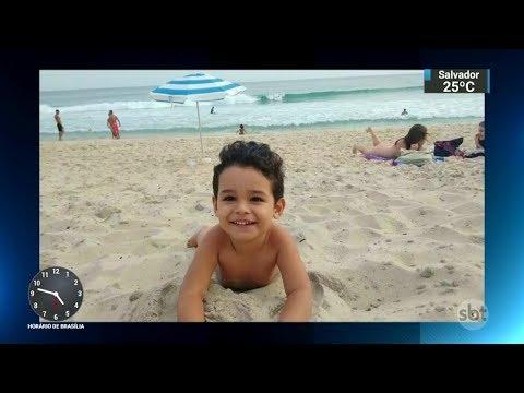Menino de 5 anos morre após erros de hospitais públicos do RJ | SBT Notícias (30/11/17)