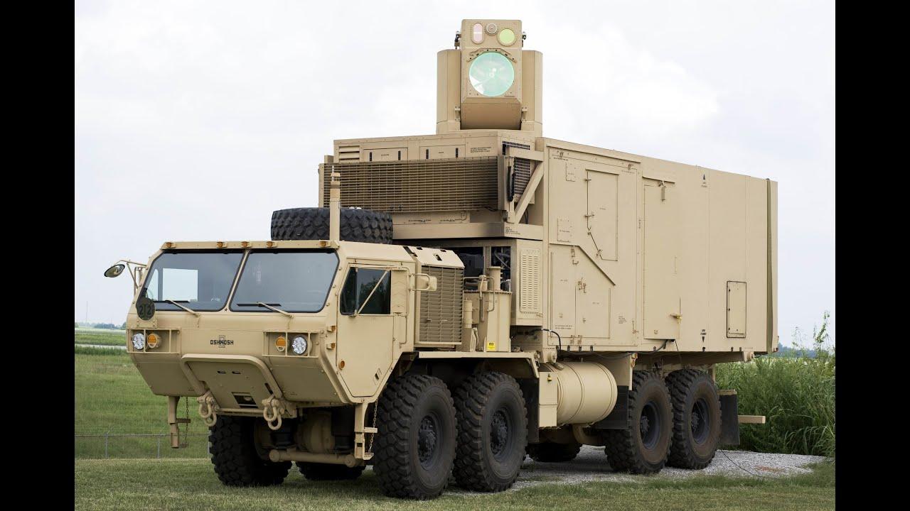 HEL-MD UAV & Mortars Intercept