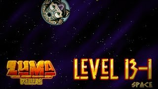 Zuma Deluxe (PC) - Level 13-1 - Space Gameplay (Last Stage) + Ending