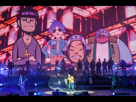 Gorillaz - 'Feel Good Inc' LIVE at Boomtown Fair  Festival 2018