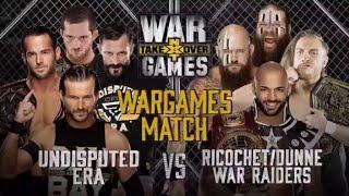 Watching NXT War Games 2018