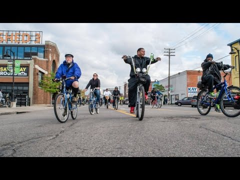 Slow Roll Detroit  [May 1, 2017] Eastern Market