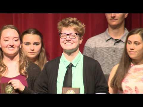 Cedar Falls High School Honors Convocation 2017