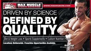 max muscle sports nutrition commercial best sports nutrition store