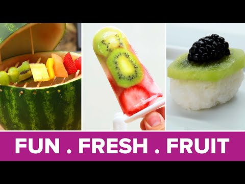 Creative Ways To Serve Fruit