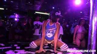 Repeat youtube video Adult Star Skin Diamond performs at club Onyx Philadelphia
