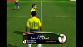 Fifa worldcup 2002 ps2 England Vs Brasil.