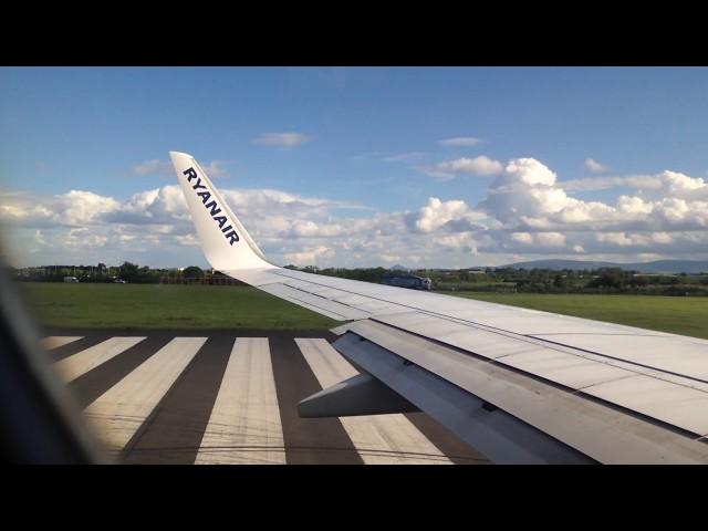 Ryanair EI-DHX Takeoff from Dublin
