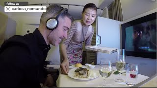 Top 10 Airlines - Asiana First Class  (Seoul - New York)