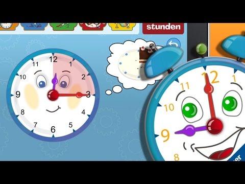Meine erste Uhr - Ravensburger App bringt Kindern die Uhrzeit bei (iPad, iPhone)