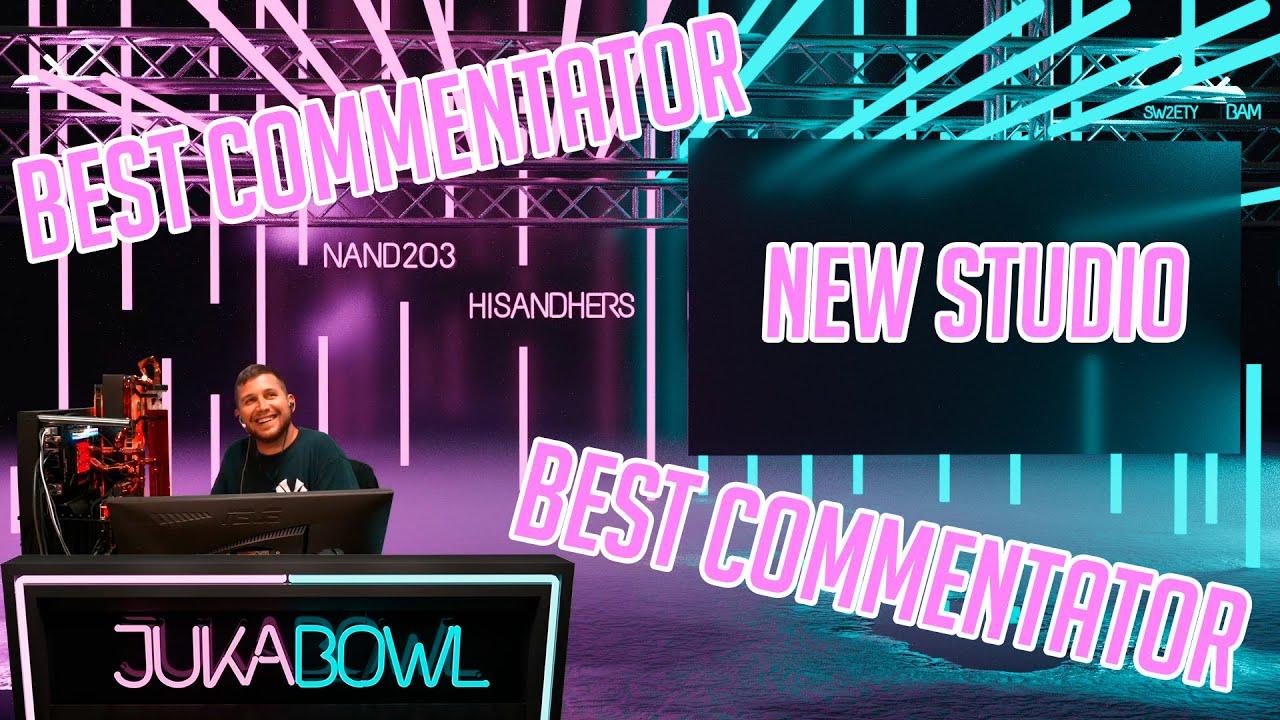 JukaBowl Best Commentator   Highlights   RCOesports   HisAndHersLive